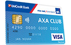 UniCredit Bank - Visa AXA CLUB