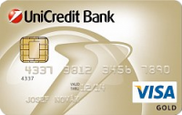 UniCredit Bank - Visa credit Gold