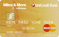 UniCredit bank - MasterCard Miles & More Gold